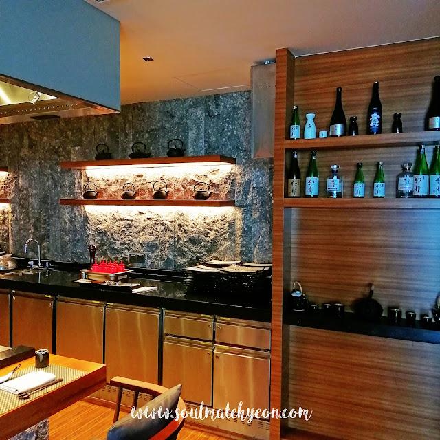 Teppan Table, Kota Kinabalu Marriott Hotel