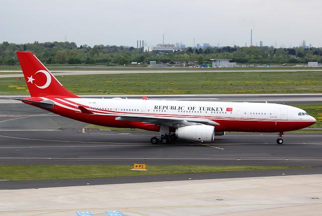 Republic of Turkey TC-TUR Airbus A330-243