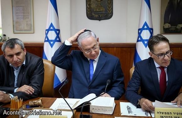 Netanyahu lee la Biblia