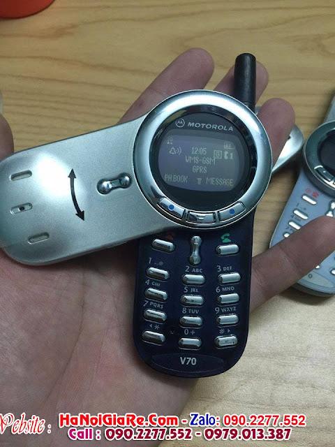 www.123nhanh.com: bán điện thoại cổ motorola v70 xoay cực độc ....