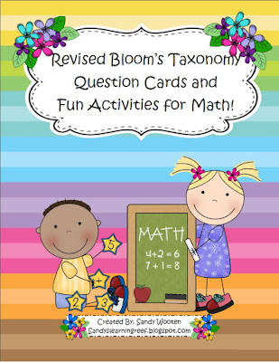 https://www.teacherspayteachers.com/Product/Math-Talk-Questions-Activities-Using-Blooms-Taxonomy-For-Any-Word-Problem-1715610