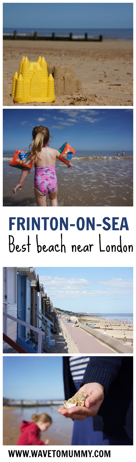 A beautiful family friendly beach near London - Frinton-on-Sea. This is our new favourite beach near London - a sandy beach and lack of commercialisation. Have a look at the pictures of Frinton-on-sea beach front and get some tips on what to expect at Frinton seaside.