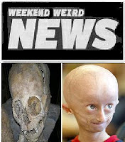 weekend weird news: alien coneheads or abnormalities?