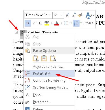 cara membuat daftar isi otomatis di microsoft word menggunakan heading