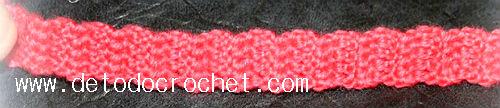 correa tejida para mochila crochet de buho