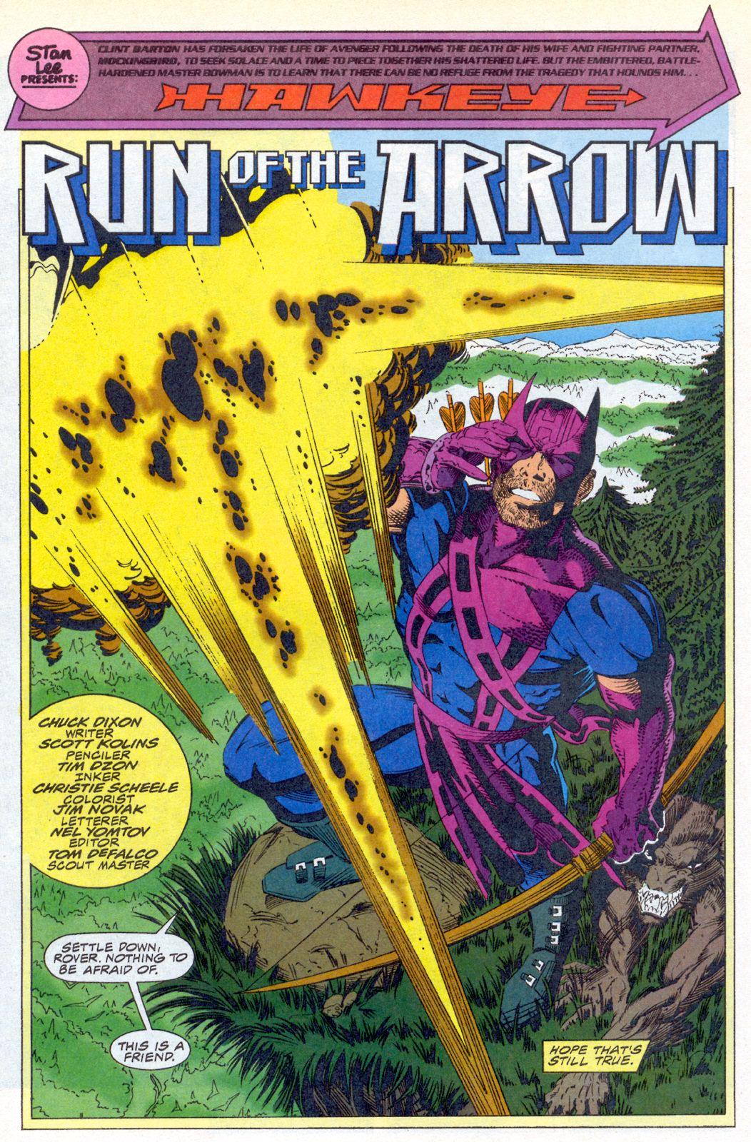 Hawkeye (1994) Issue #3 #3 - English 2