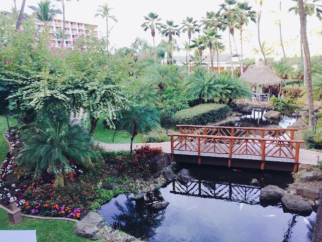 Grand Wailea gardens