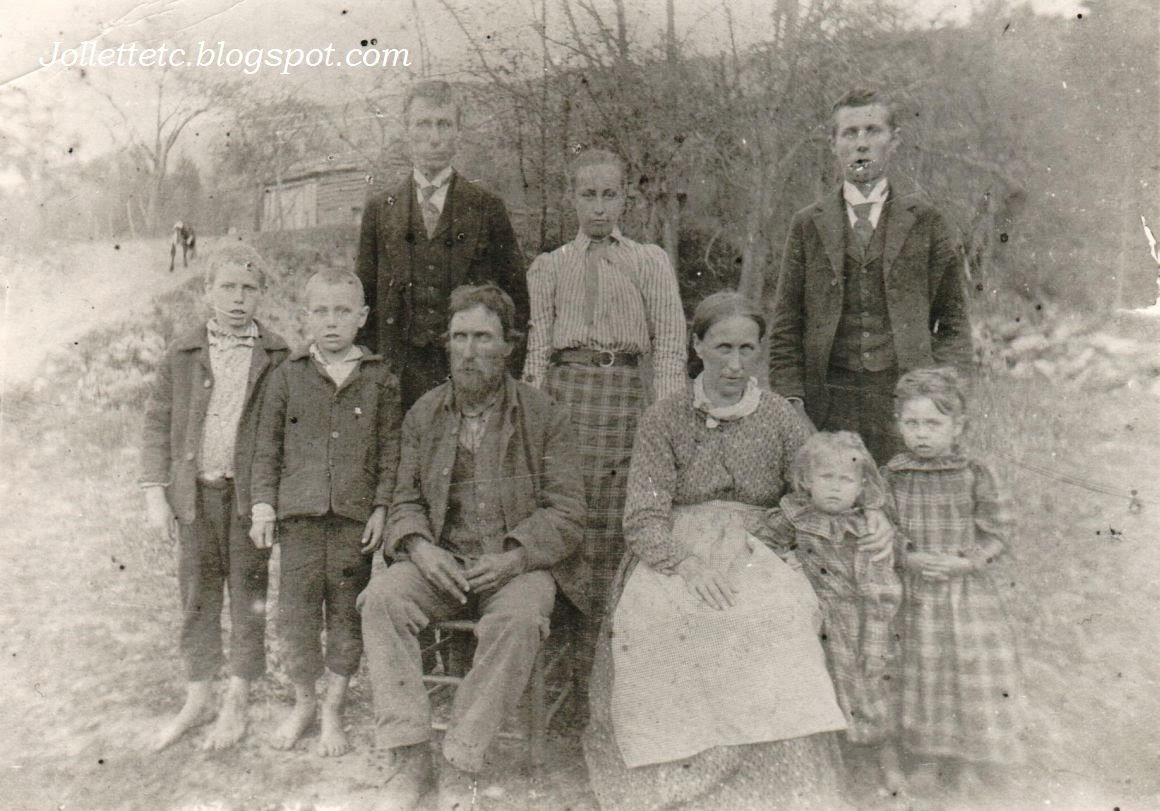 Family of Adam and Caroline Kohne Hardy County, West Virginia  http://jollettetc.blogspot.com