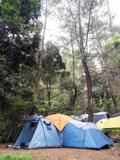 Camping Sungai Curug Kalimata