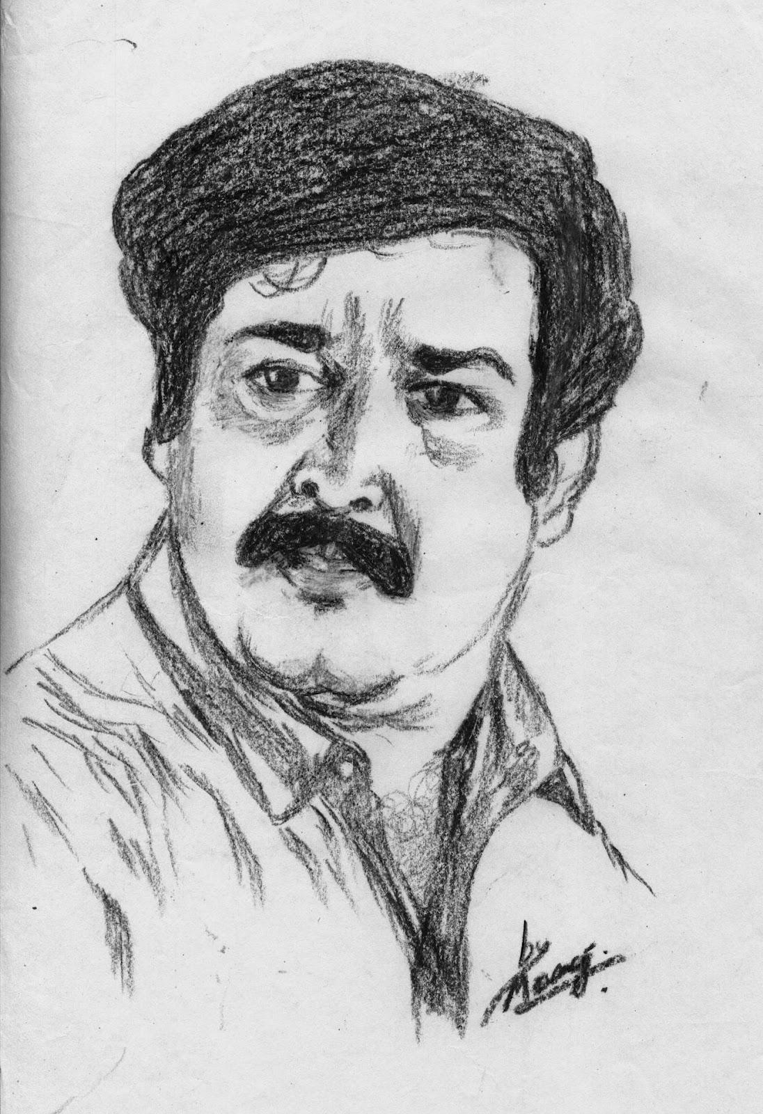 Manumohanan: Film stars Drawing....