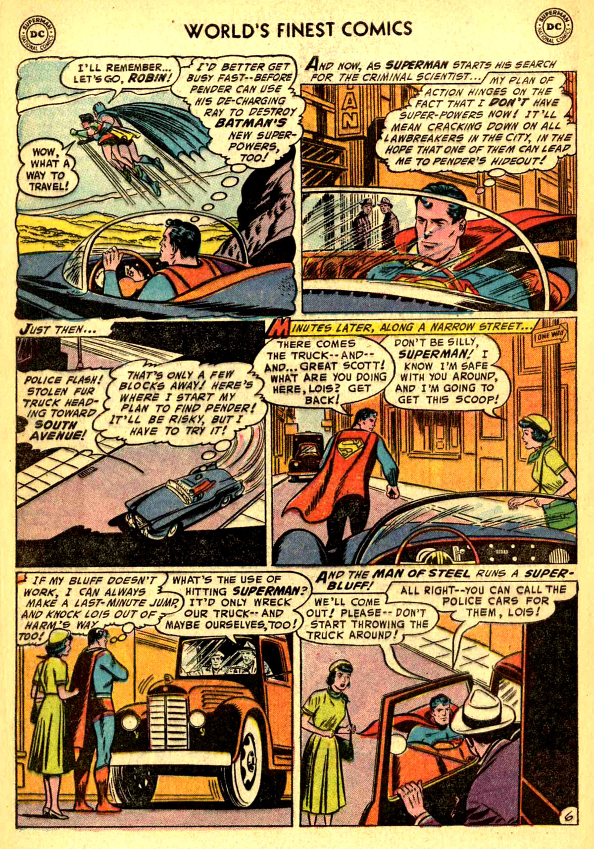 Read online World's Finest Comics comic -  Issue #77 - 8