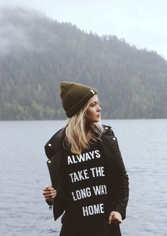 Always Take The Long Way Home T-shirt