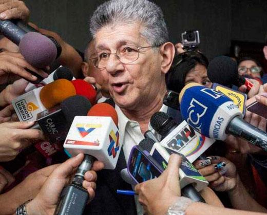 Ramos Allup: TSJ publicará sentencia para anular trámite del revocatorio
