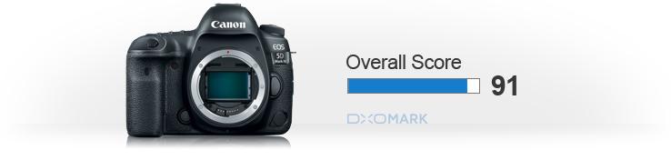 DxOMark Лучший сенсор Canon у 5D Mark IV