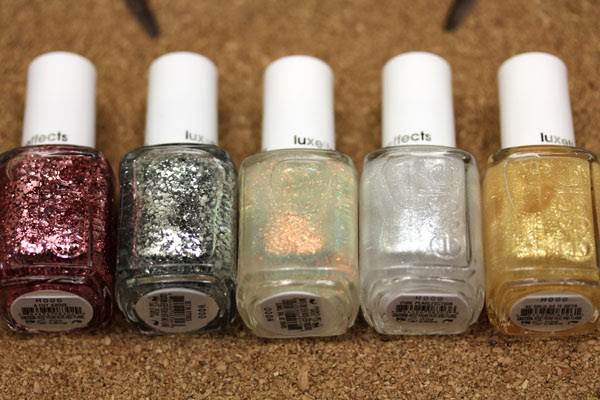 Messy Wands: Essie Winter 2011: Luxeffects Collection
