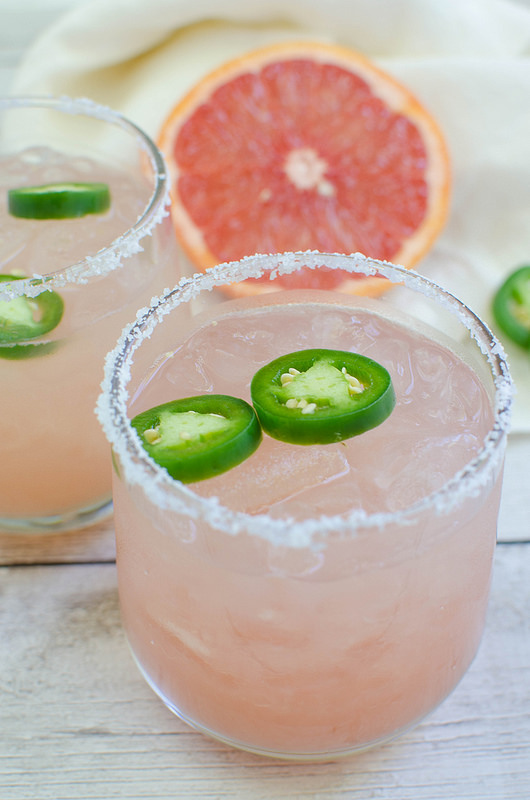 Spicy Salty Dog #recipe #drinkscocktail