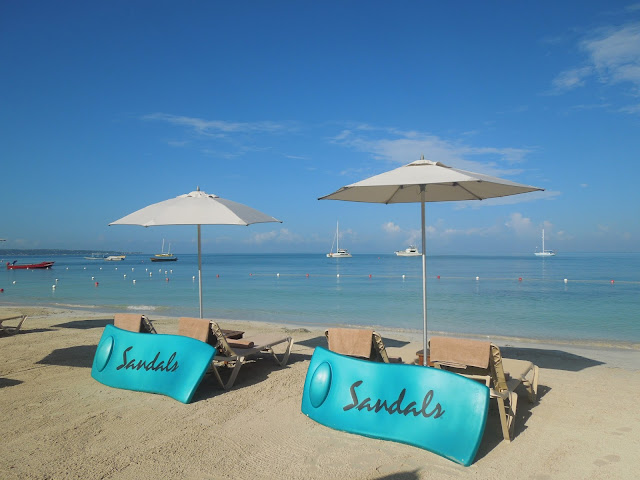 Sandals Negril beach