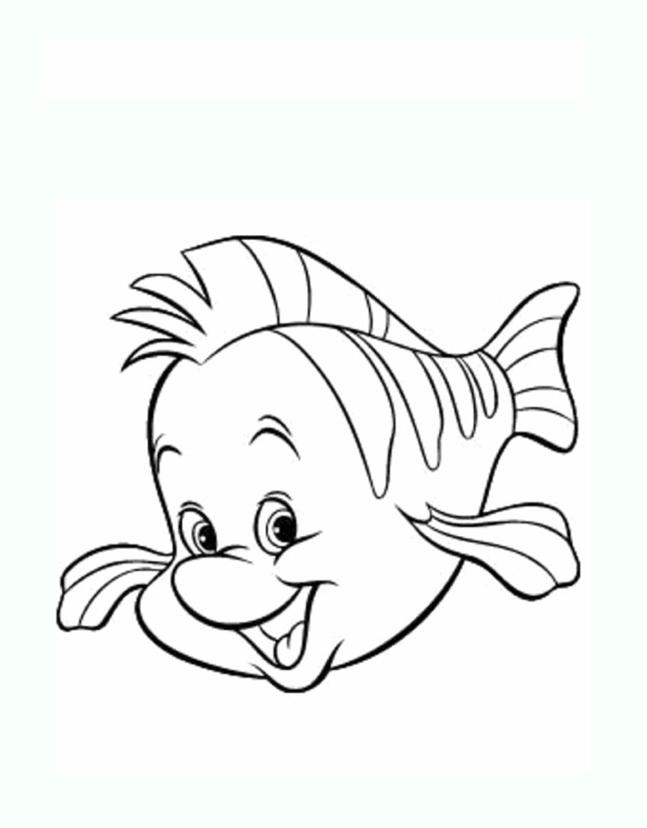 Tranh tô màu con cá nemo