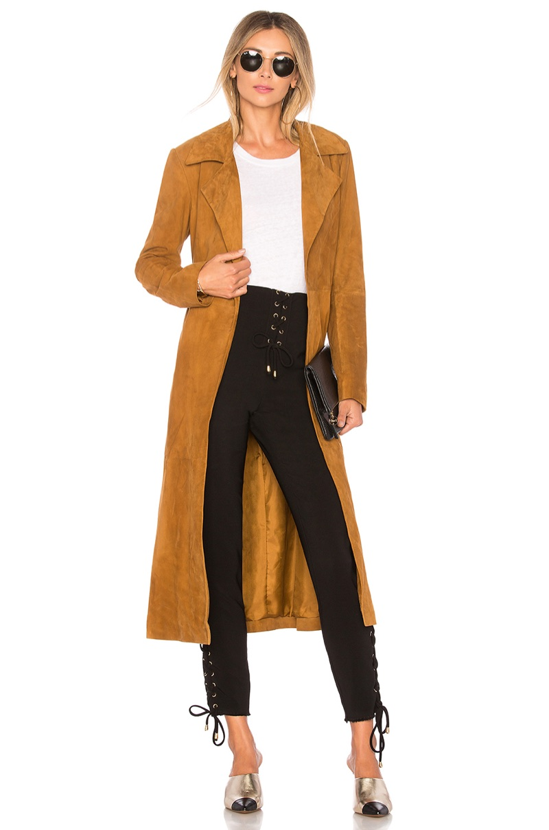 House of Harlow 1960 x REVOLVE 'Ryder' Suede Jacket