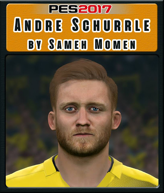 PES 2017 Andre Schurrle Face By Sameh Momen