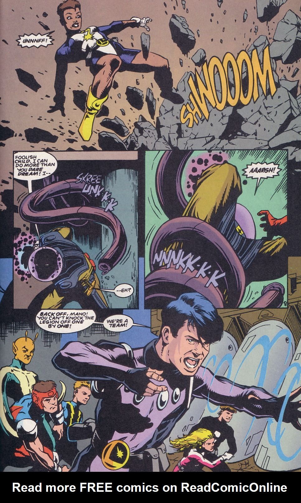 Legion of Super-Heroes (1989) 63 Page 22