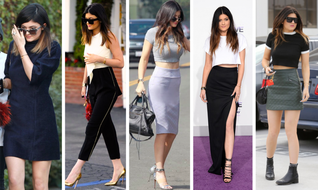 Kylie Jenner Casual Outfits 2014 Una Pulga Con L...