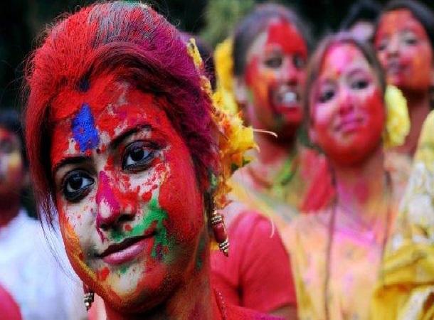 Happy Holi In Bengali