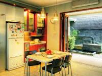 Dapur Minimalis Ada Tamannya