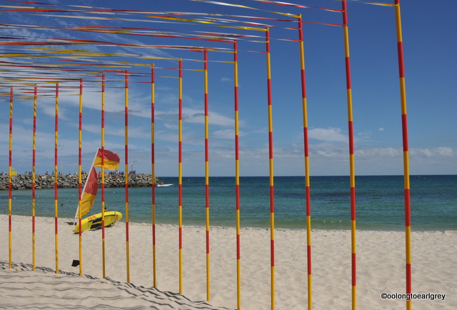 Kakashi by Zilvinas Kempinas, Sculptures by the Sea, Cottesloe 2016 Peoples Choice Winner