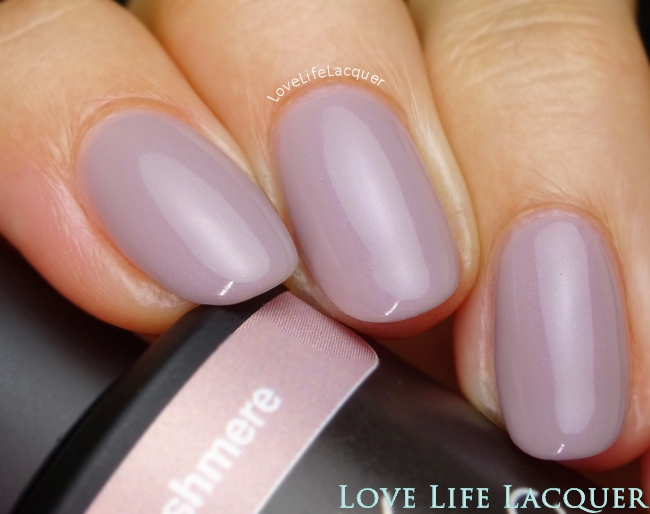 Pink Gellac Pure Cashmere Swatch Uncovered1