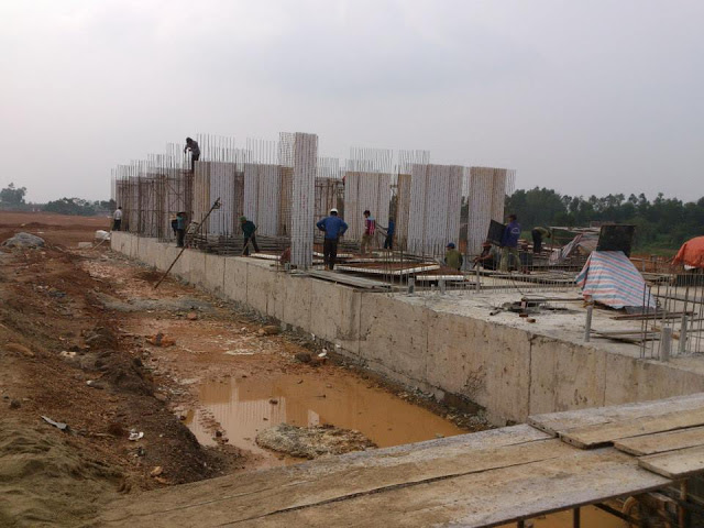 Lắp dựng panel3d - Tường