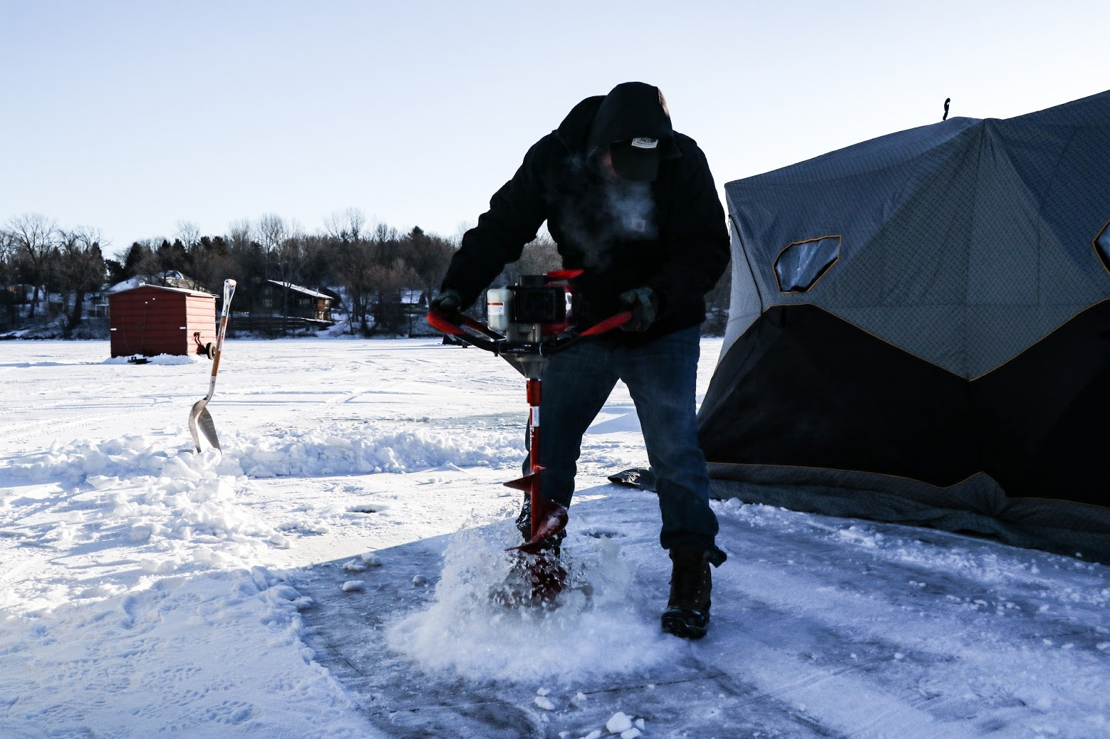 Carf outdoors wally wally where ya at for Ice fishing in minnesota