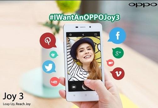 Harga HP Oppo Joy 3 Update September 2017 Lengkap Dengan Spesifikasi