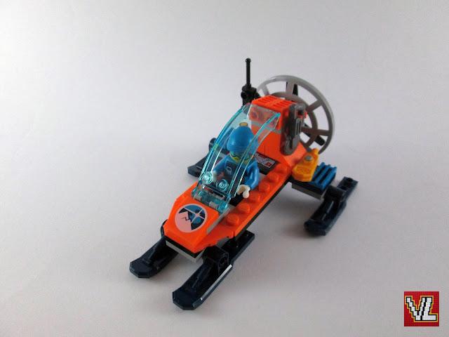 Set LEGO City 60190 Arctic Ice Glider