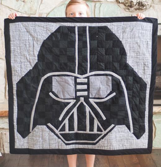Darth Vader Quilt Free Pattern