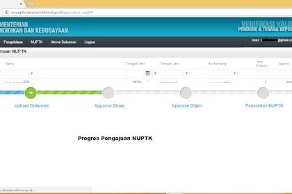 Cara Upload Data Calon Penerima NUPTK Agar Cepat di Approve