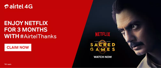 Trick to Get Netflix Premium Account Free For 3 Month (Netflix
