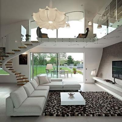 model ruang tamu sederhana terbaru