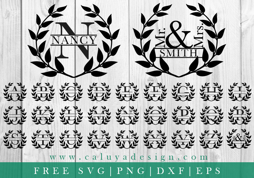 Quick Tip How To Make A Split Monogram And Where To Find The Free Ones