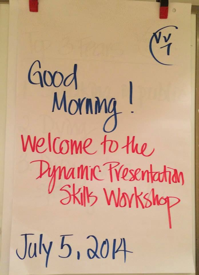 July 5 Dynamic Presentation Skills Workshop