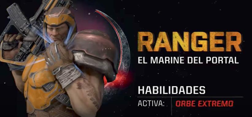 Quake Champions presenta al campeón Ranger