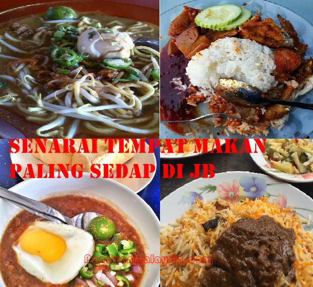 Senarai Tempat Makan Paling Sedap Di Johor Bahru - JunaBlogg