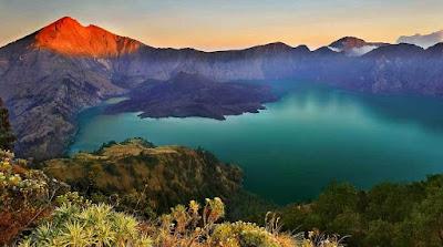 Tempat Wisata Gunung Rinjani di NTB