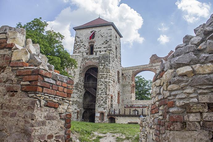 Rowerem... Puszcza Dulowska & Zamek Tenczyn