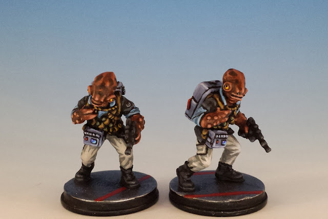 Imperial Assault Rebel Saboteur, Mon Calamari Conversion