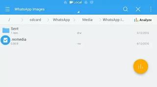 Saiba ocultar fotos e vídeos do whatsapp na galeria