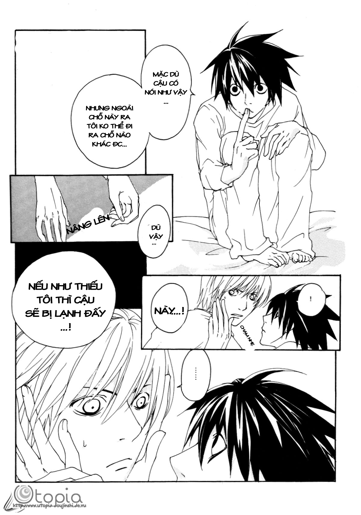 Hình ảnh 007 in Death Note Doujinshi - Feather Plus