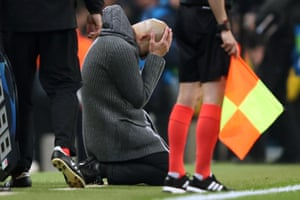 Man City crash out of UEFA Champions League in dramatic fashion