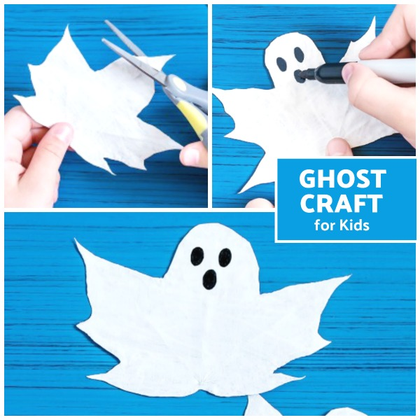 Turn autumn leaves into spooky ghosts with this craft tutorial for kids.  Make painted ghost leaves. #ghostleaves #ghostleavesdiy #leafart #leafpainting #leafcraftsforkids#ghostcrafts #ghostcraftsforkids #ghostcraftspreschool #ghostart #ghostactivitiesforkids #growingajeweledrose #activitiesforkids