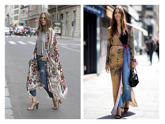 Джинсы с кимоно